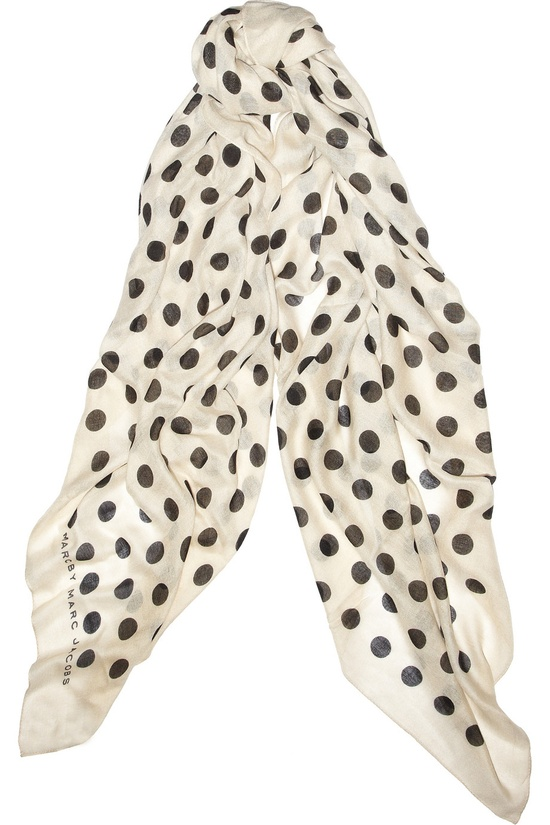 MARC BY MARC JACOBS  Hot Dot  scarf