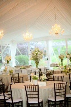 White-Tent-Wedding-Reception chandelier s