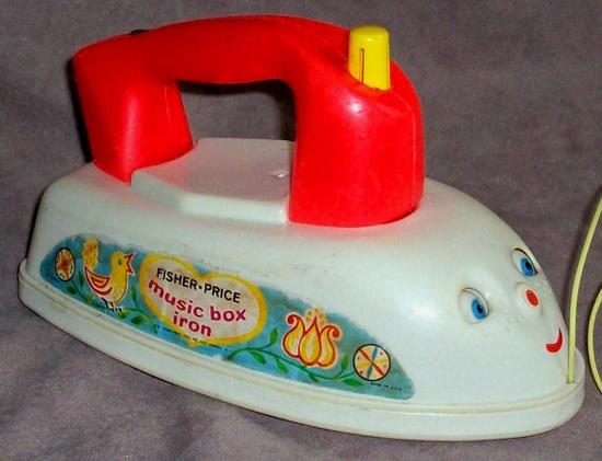 Fisher Price Music Box Iron