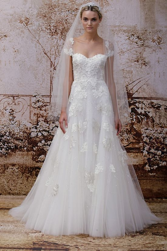 ethereal wedding dress by @Monique Otero Lhuillier