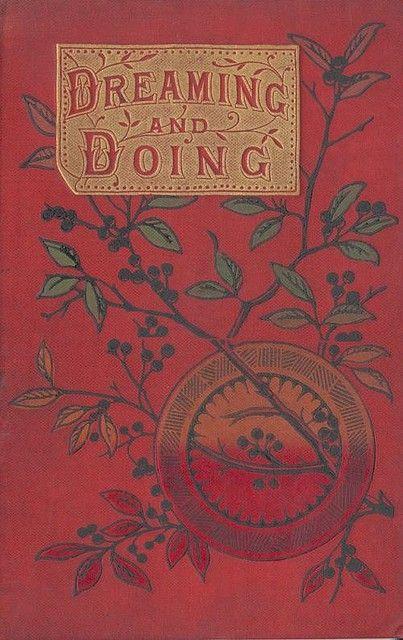 vintage book...