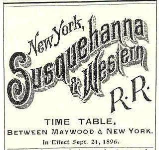 Railroad typography