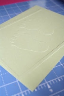 How to make embossing folders  VERY COOL