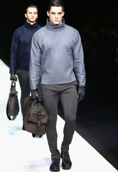 Like the simplicity of this, Milan men's fashion 2013