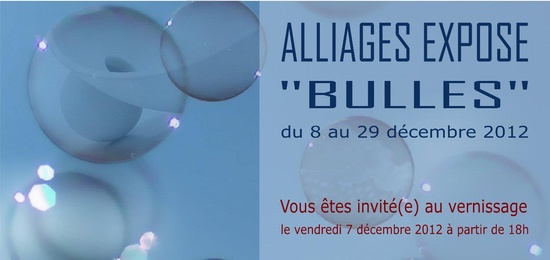 Bulles - Alliages - 2012