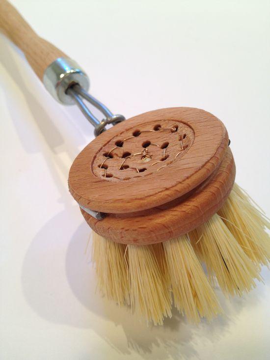 hand made dish brush