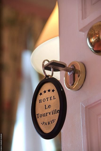 The romantic hotel