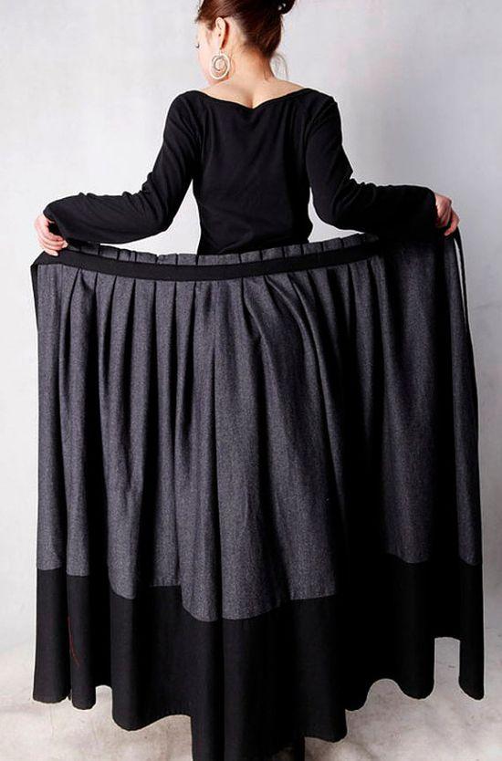 same skirt as green and black skirt, wrap skirt