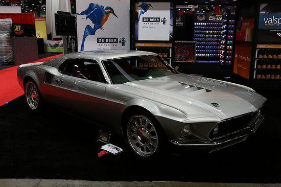 Gorgeous '70 Mustang Custom @ SEMA Show 2012