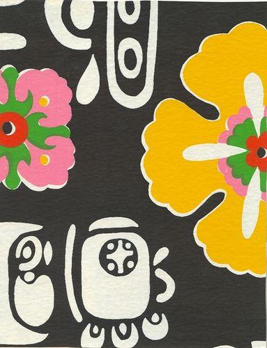 Wallpaper, early 1970s