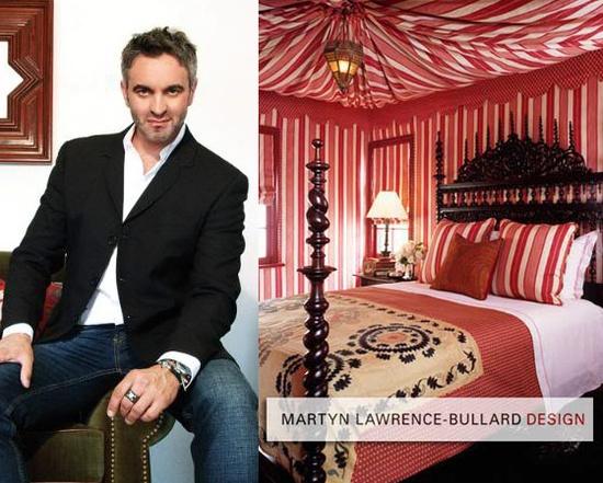 Martyn Lawrence Bullard designed bedroom