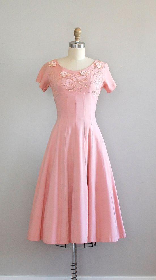 #partydress #vintage #frock #retro #teadress #romantic #feminine #fashion #petticoat