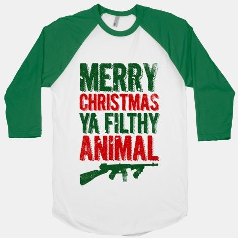 Merry Christmas #funny #christmas #movie #quote #home #alone #filthy #animal #guns #gangster