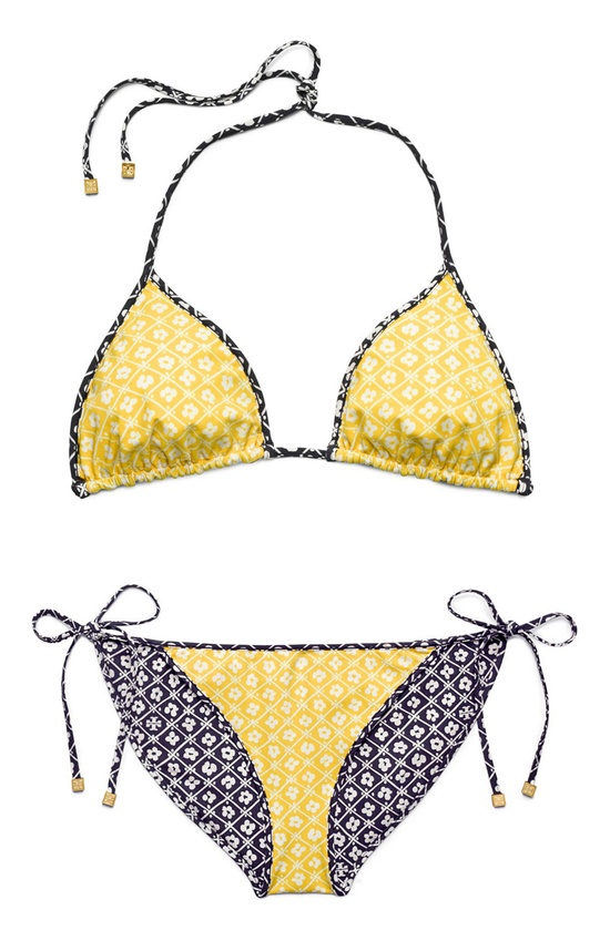 Tory Burch Biarritz Reversible Bikini