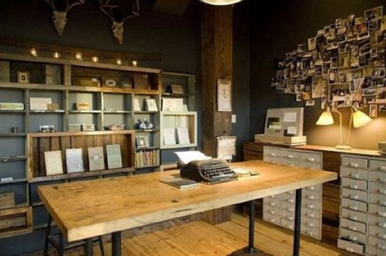 Rustic Home Office Ideas Amazing Rustic Home Office Designs