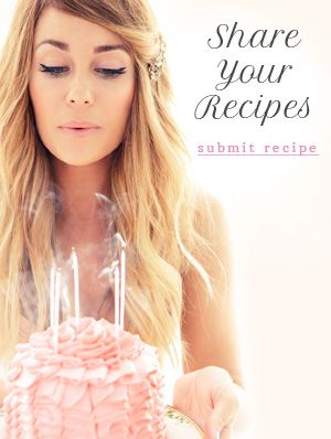 LaurenConrad.com Recipe Gallery {full of too many things i want to eat!}