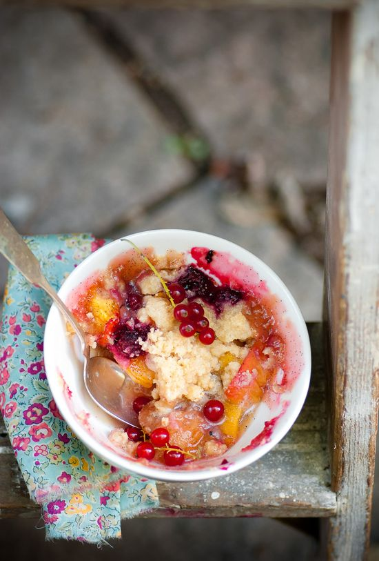 Stone Fruit & Summer Berry Crumble