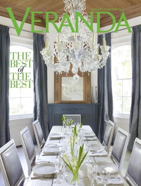 Veranda magazine, January/February 2013