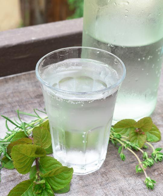 Make Your Own Sparkling Herbal Water by thekitchn #Herbal_Water