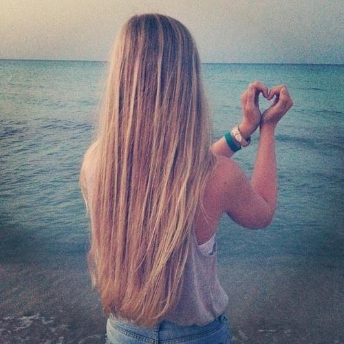 beach hair love