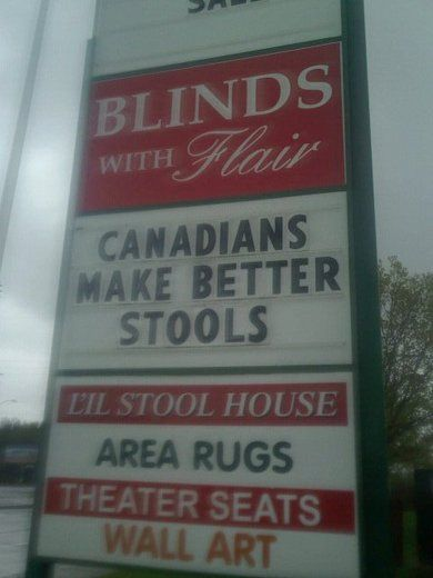 Canadians are better.