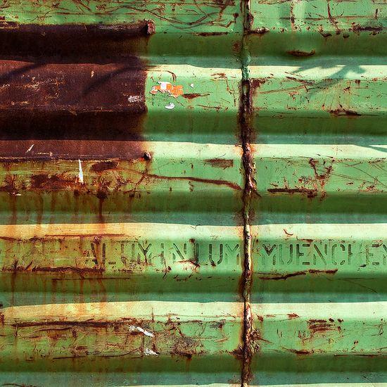 leaf green and rust.