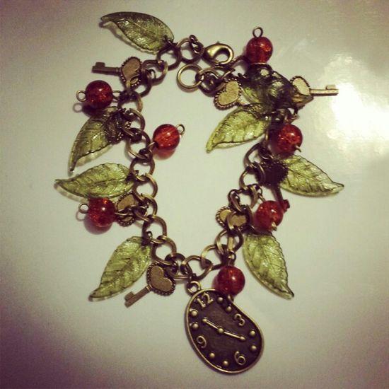 242 - Handmade charm bracelet