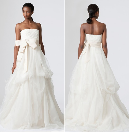 Vera Wang - Dinah gown available @ #Nordstrom #Wedding Suite