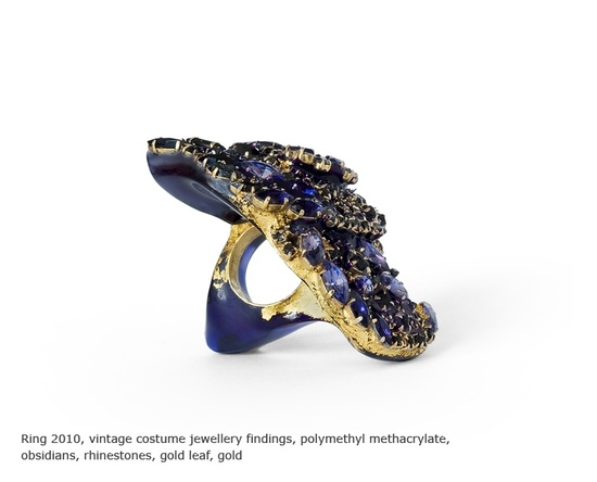 petra zimmermann - ring 2010 - vintage costume jewellery findings