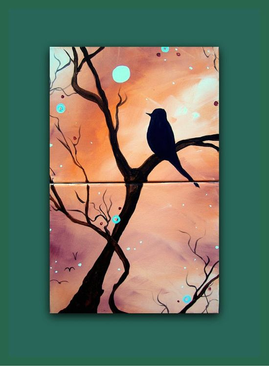 Bird Painting $70