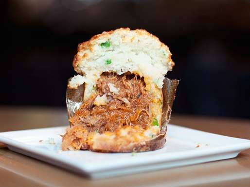 The BBQ Pulled Pork Cupcake