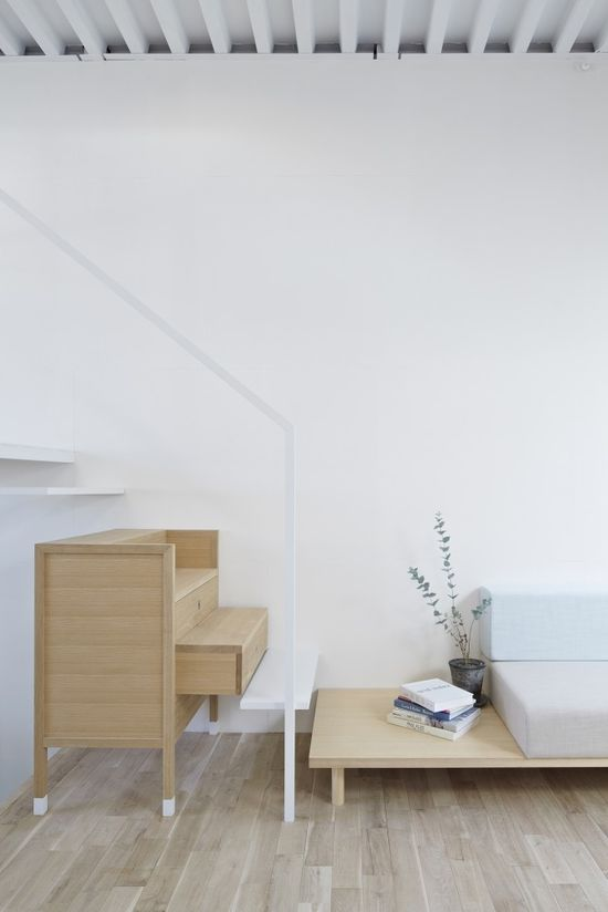 House in Itami / Funny storage solution