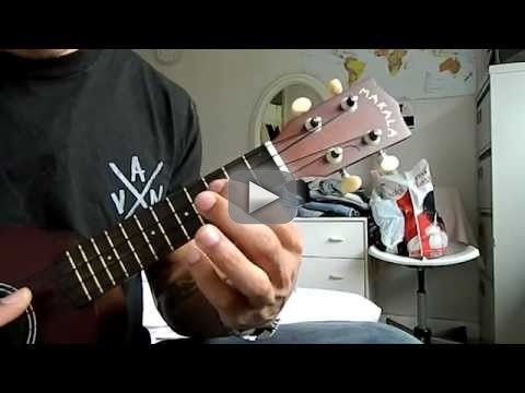 Uke Lesson#36: Labrinth / N.W.A - Express Yourself RIFF ONLY (NO CHORDS) (Ukulele Tutorial / Lesson) - Stoopid-phresh.tu... - twitter@hionlyf PICKING BELOW