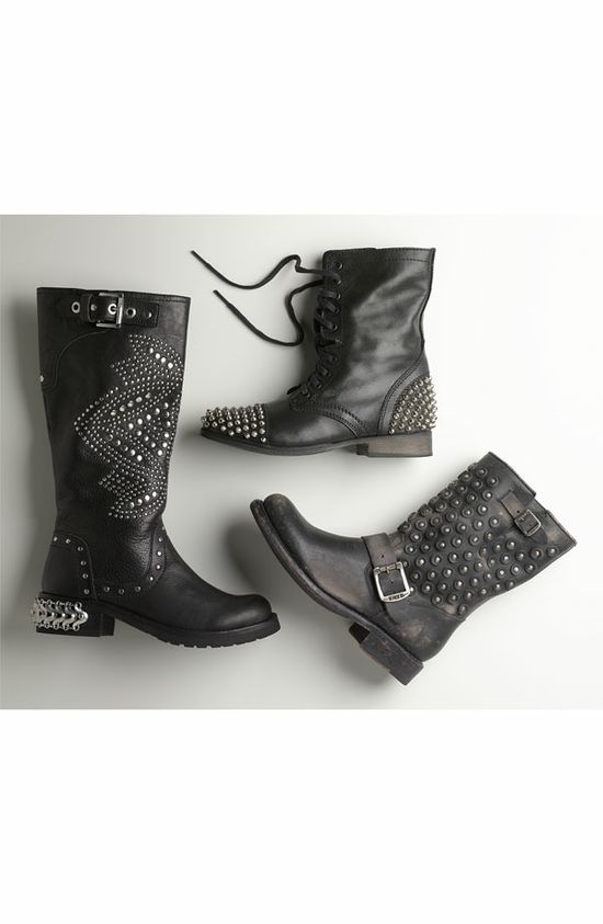 Night Out: Boots with Studded Attitude #Nordstrom #Holiday