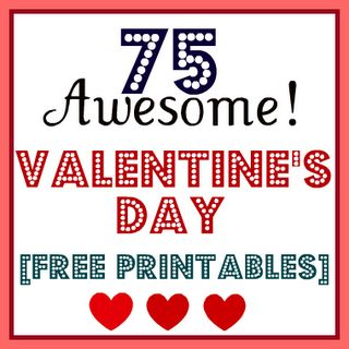 list of Valentine's Day printables!