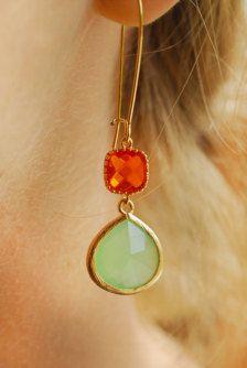 Drop in Earrings - Etsy Jewelry