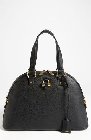 Saint Laurent 'Muse - Medium' Leather Dome Satchel available at #Nordstrom
