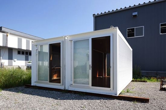 Simple Shipping Container Prefab Housing