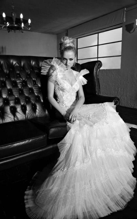 GALIA LAHAV WEDDING DRESS 2013 /2014 COLECTION #wedding #shoes