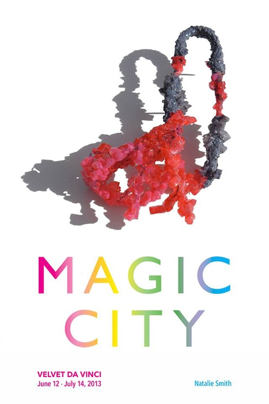 "Magic City is coming...  June 12 — July 14, 2013    Farrah Al-Dujaili, Emily Bullock, Lydia Feast, Christine Graf, Nanna Grønborg, I Ting (Heather) Ho, Zita Hsu, Christiana Joeckel, Lisa Juen, Yi (Roger) Liu, Katharina Moch, Kathryn Partington, Jo Pond, Fliss Quick, Xiaohan (Vincent) Ren, Natalie Smith, Li-Chu Wu, Wen-Miao Yeh    Natalie Smith ""When"" brooch"