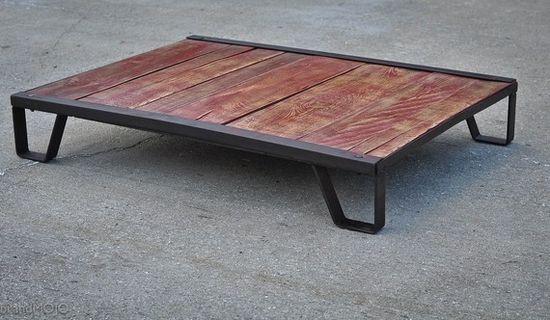 Vintage Industrial Moldmaker's Table.