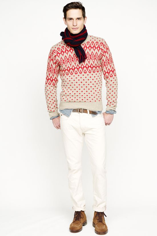 Winter.  White.  (J. Crew, Fall/Winter 2013)