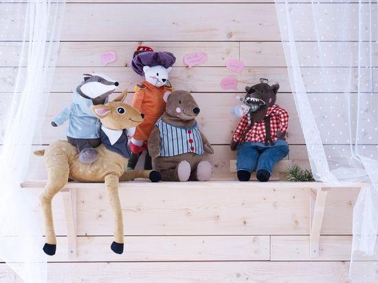 Ikea stuffed animals
