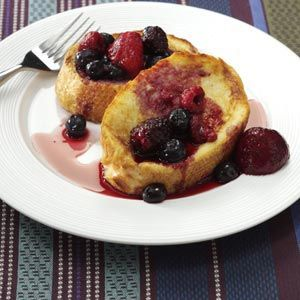 Makeover Overnight French Toast Recipe from Taste of Home's Healthy Cooking