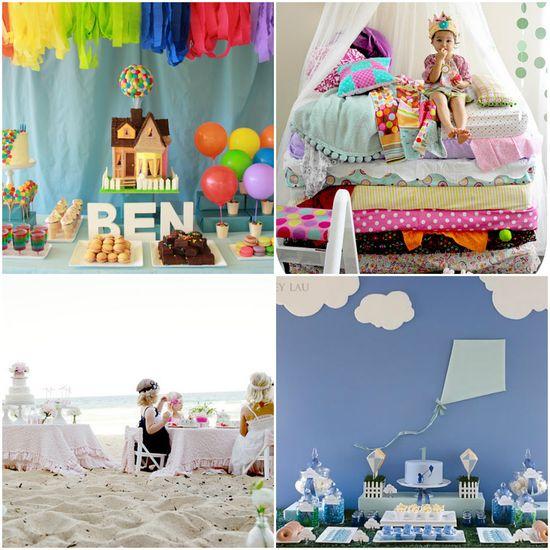 25 Unique Kids Birthday Themes