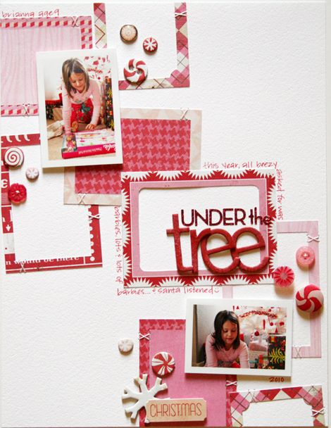 awesome scrapbook layout!