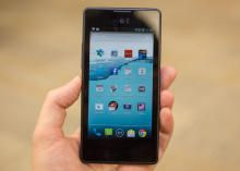 Yota phone review by CNET