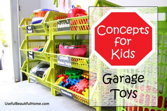 Organizing Concepts for Kids: Garage Toys