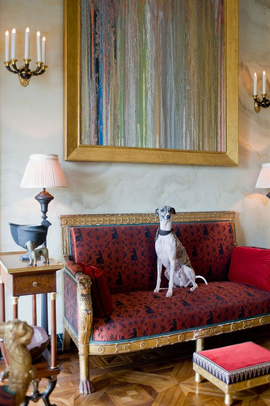 ~ My style of home decor... Whippet~