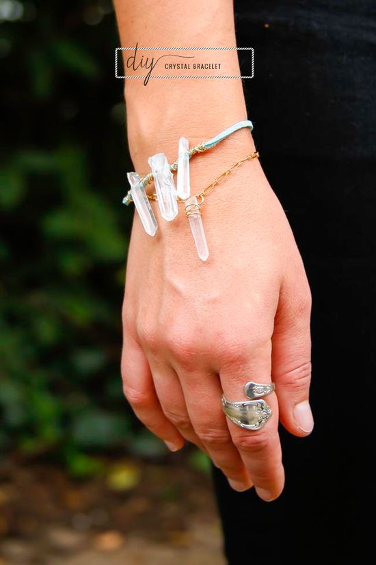 DIY: crystal bracelet
